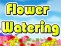 Game Watering the flowers . Play online