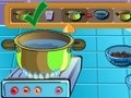 Game Cooking Show - homemade chocolate cake . Play online