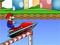Game Mario on the jet . Play online