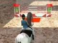 Game Horse Jumping 3D . Play online