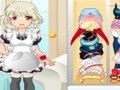 Game Dress the maid . Play online