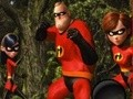 Game Incredibles, hidden letters. . Play online