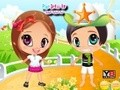 Game My best friend dresses up . Play online
