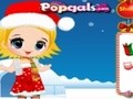 Game Noel and snowman . Play online
