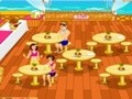 Game The waitress at the beach . Play online
