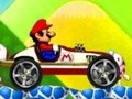 Game Mario stunt car . Play online