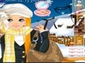 Game Make-up for women skiers . Play online
