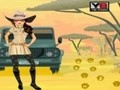 Game Visit to Africa: Safari Girl . Play online