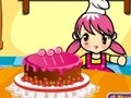 Game Delicious cake . Play online