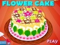 Game Flower Cake . Play online