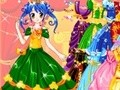 Game Color princess . Play online