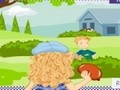Game Holly Hobbie: Water Balloon explosion . Play online