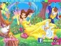 Game Hidden Letters of Princess Belle . Play online