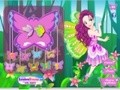 Game Charming fairy butterfly . Play online