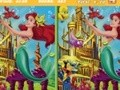 Game Little Mermaid: Spot the Difference . Play online