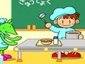 Game Japanese cafe . Play online