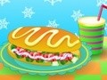 Game A delicious hot dog . Play online
