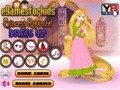 Game Attire for the Princess Rapunzel . Play online
