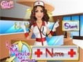 Game Makeup nurse at the last minute . Play online