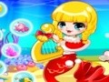 Game Christmas style mermaid . Play online