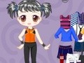 Game Cheerful casual outfit . Play online