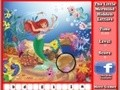 Game Mermaid Hidden Letters . Play online