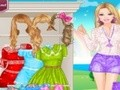 Game Barbie fashion lace . Play online