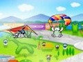 Game Puppy on deltoplane . Play online