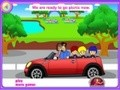 Game Lovely family and triplets . Play online