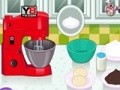 Game Delicious chocolate cake . Play online