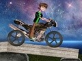 Game Ben 10 biker on the Moon . Play online