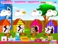 Game Caring for kittens . Play online
