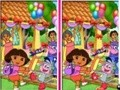 Game 10 differences Dora the Explorer . Play online