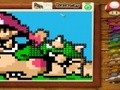 Game Embroidery Mario . Play online