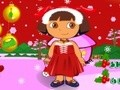 Game Dora for Christmas . Play online