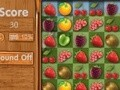 Game Gold match fresh fruit . Play online