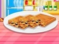 Game A cake made of honey and beans . Play online